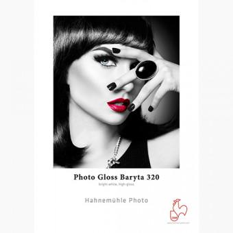 """HAHNEMUHLE BOBINA PHOTO GLOSS BARYTA 320G 44"""" 111CMX15M"""