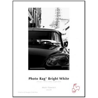 HAHNEMUHLE BOBINA PHOTO RAG BRIGHT WHITE 111CM X 11 MTS 310G