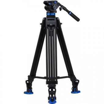 BENRO KIT TRIPODE VIDEO DOBLE TUBO  ALUMINIO  A573TBS8