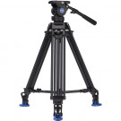 BENRO KIT TRIPODE VIDEO DOBLE TUBO ALUMINIO BV8