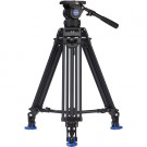 BENRO KIT TRIPODE VIDEO DOBLE TUBO ALUMINIO BV10